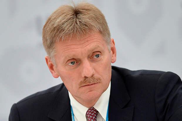 Кремль: Россия не собирается ввязываться в гонку вооружений