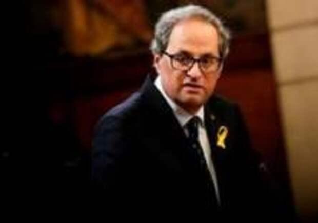 Глава Каталонии объявил голодовку