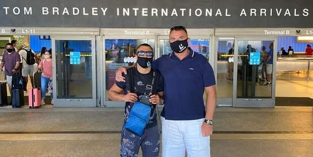 Ломаченко прибыл в США (Фото) - ТЕЛЕГРАФ
