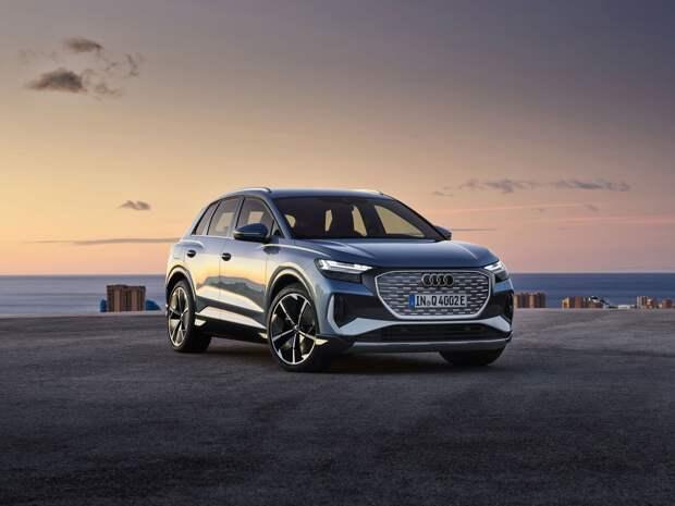 Audi запускает предпродажу компактного SU4 Q4 e-tron с электроприводом