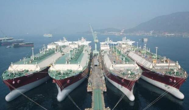 Qatar Petroleum СПГ танкеры