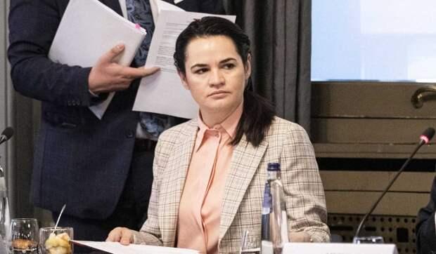 """Тихановская назвала инаугурацию Лукашенко """"уходом на пенсию"""""""