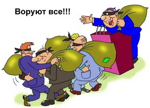 Чиновное ворье в РФ – бессмысленное и беспощадное, даже к себе