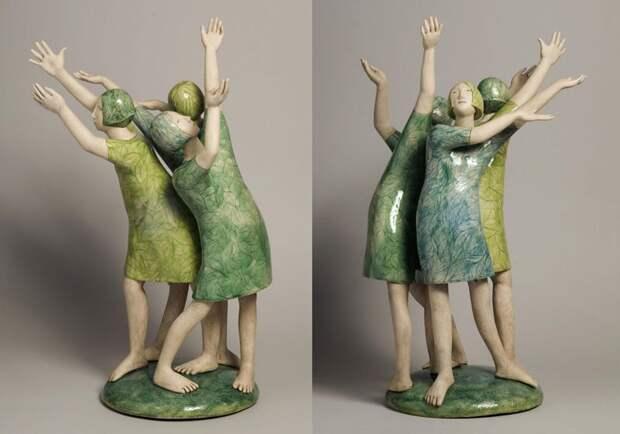 Ожившая керамика Elizabeth Price