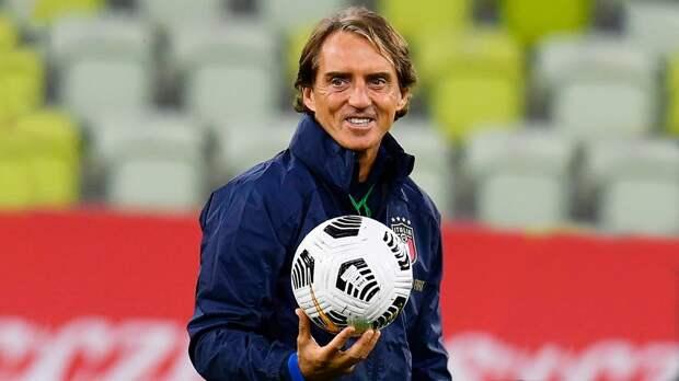 Источник: Манчини продлит контракт со сборной Италии