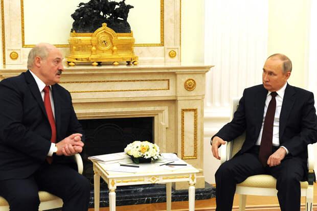 Песков объяснился за «извинения» Путина перед Лукашенко