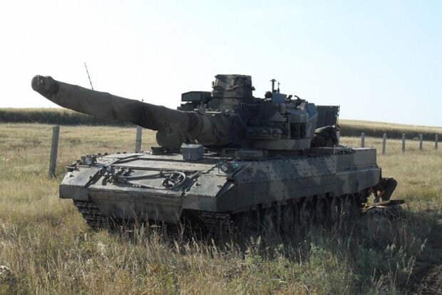 """Стали известны подробности испытаний танка """"Объект 195"""""""