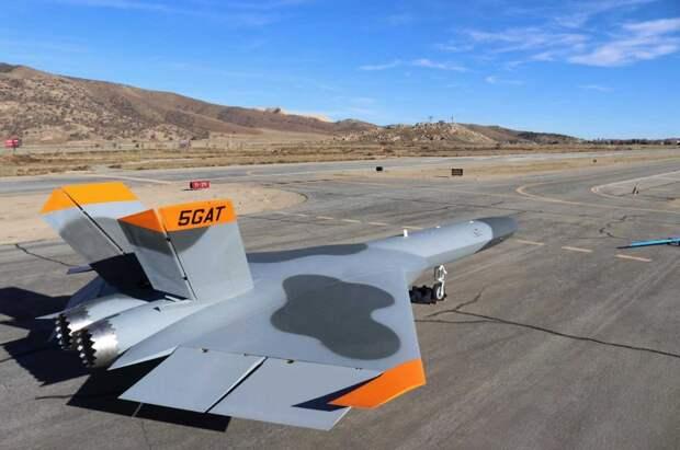 Американский самолет-мишень, имитирующий Су-57, разбился в ходе испытаний