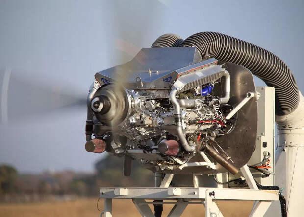 Американцы испытали авиационный двигатель дизельного цикла