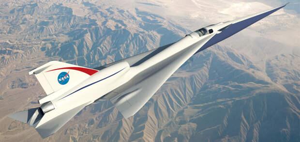NASA применяет редкие технологии 1950-х годов, чтобы уменьшить шум от сверхзвукового полета