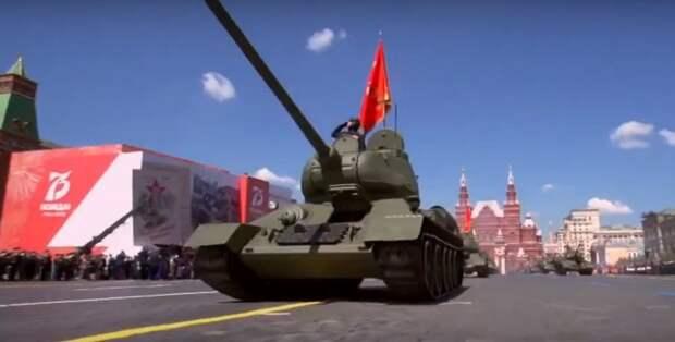 76 единиц авиатехники пролетят над Красной площадью во время парада Победы