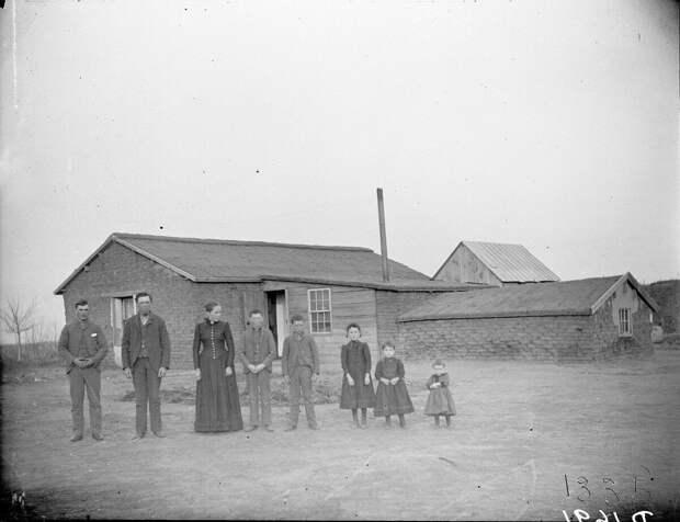 Как поднималась американская целина. Архивные фотографии пионеров Великих равнин конца 19-го века 27