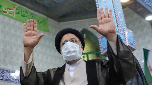 Раиси одержал победу на выборах президента Ирана