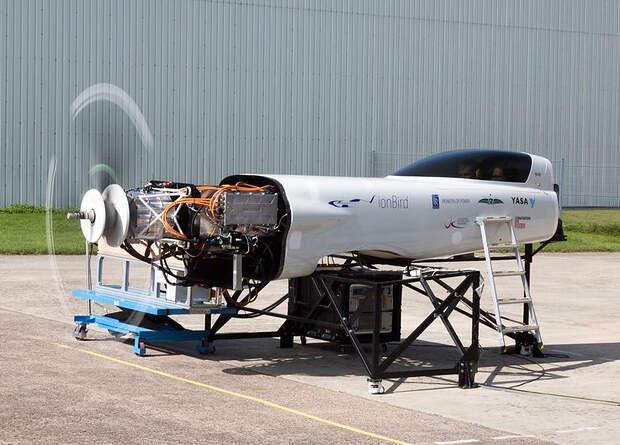 Rolls-Royce провела наземные испытания быстрого электрического самолета
