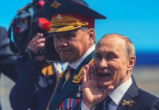 Что Шойгу вместе с российскими военными подарил Путину на день рождения