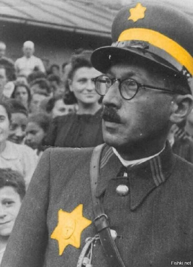 Глава еврейской полиции Кракова Шапиро.