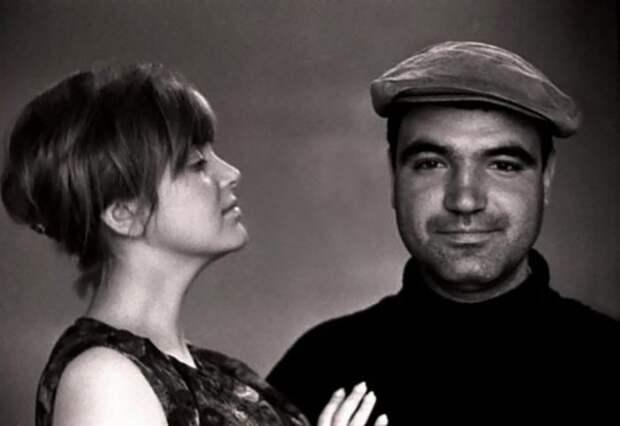 Инна Гулая и Геннадий Шпаликов   Фото: retrospectra.ru