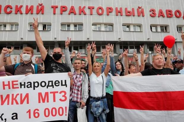 Бастуют все! Что Лукашенко и Тихановская сказали народу? | В мире ...