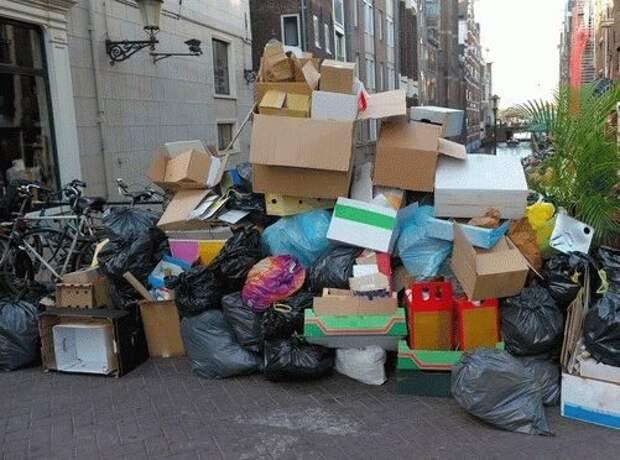 Почему мусор не выносят вечером?