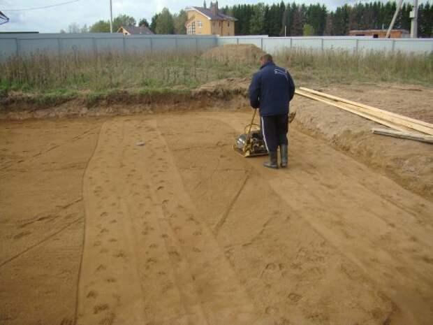 уровень песка