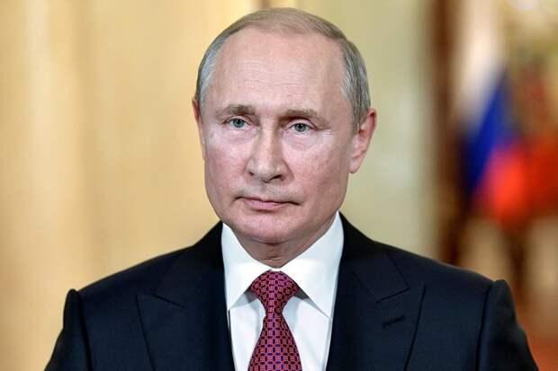 Путин заработал почти 10 млн рублей за 2020 год