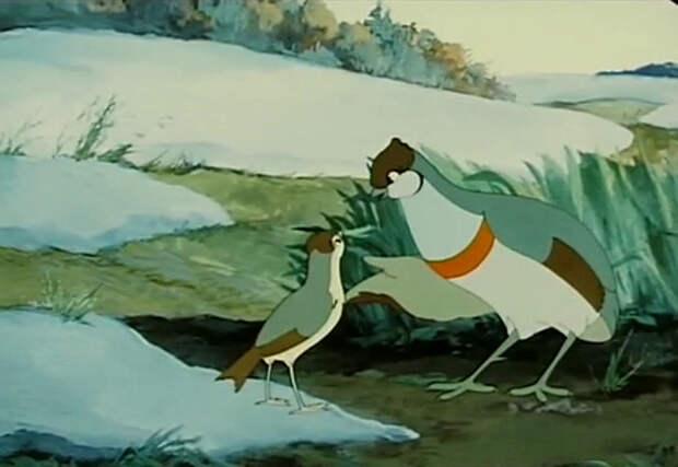 Советские мультфильмы: Оранжевое горлышко.