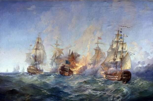 «Наши благодаря богу такого перцу задали, что любо». Разгром турецкого флота в сражении у мыса Тендра
