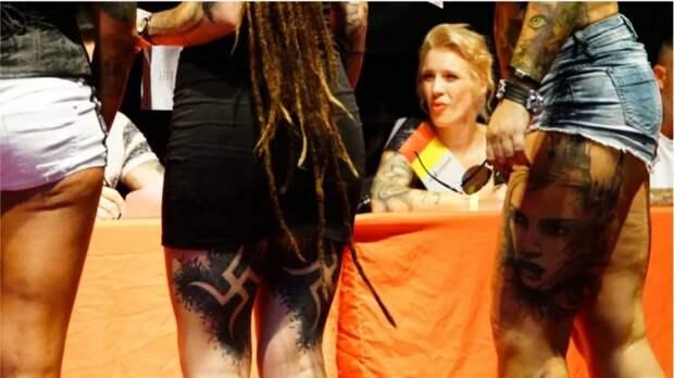 Фестиваль татуировок в Берлине закончился скандалом