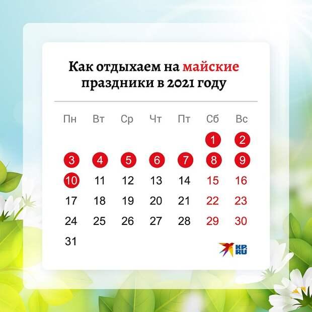 Владимир Путин объявил выходные с 1 по 10 мая
