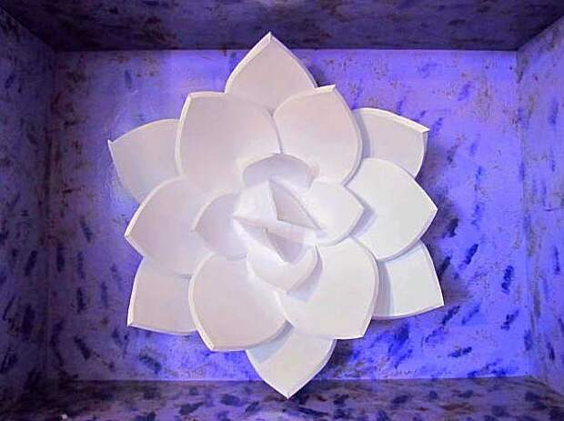 Арт-цветок из бумаги (MК)