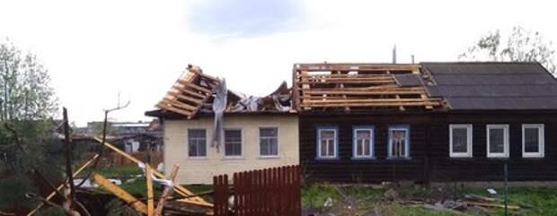 ВЯрославской области введен режимЧС из-за урагана