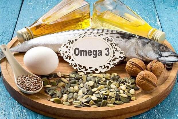 Омега-3 замедляет старение