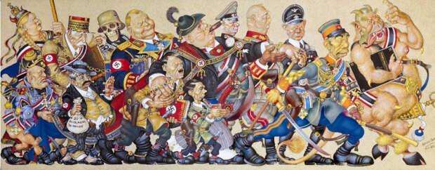 Торговля с Гитлером: кто и как на самом деле нацистов вскормил