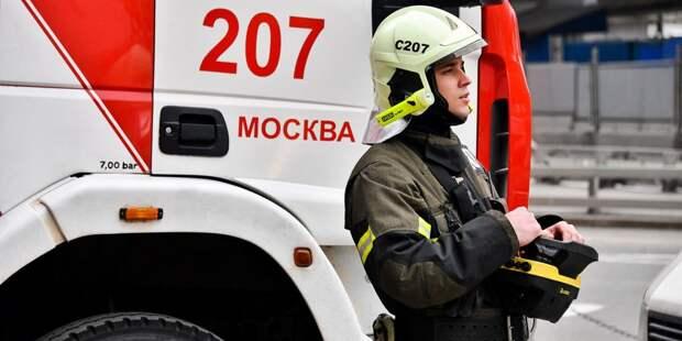 В доме на улице Василия Петушкова произошло возгорание