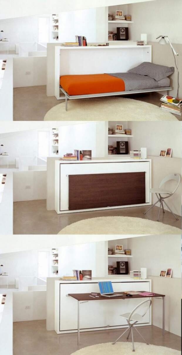 Необычная раскладная мебель