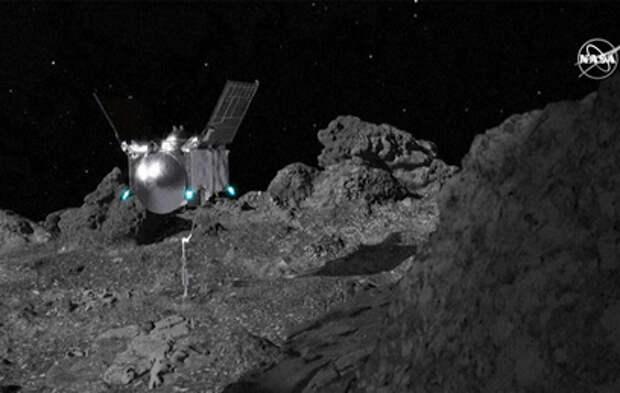 Американский зонд потерял часть грунта с астероида Бенну