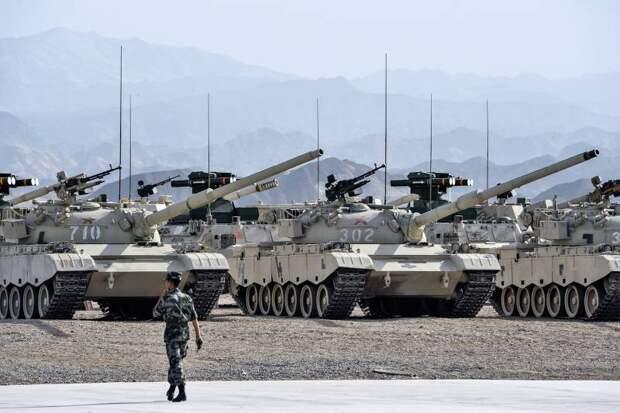 Сколько танков у Китая?