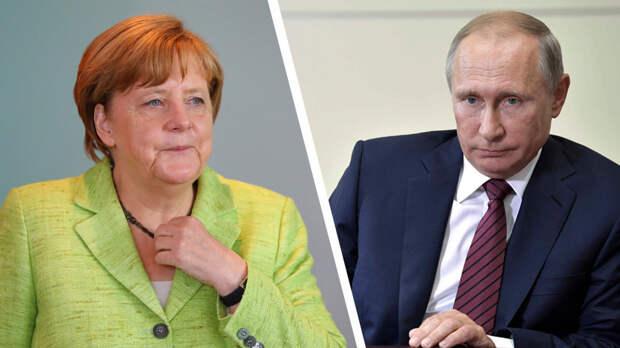 Ангела Меркель и Владимир Путин / Фото: Reuters