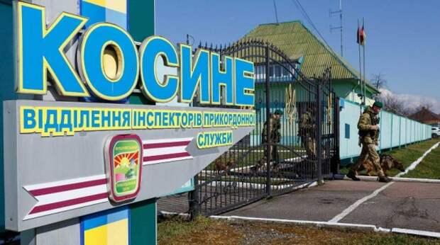 Неизвестные с Украины расстреляли пограничный столб Белоруссии