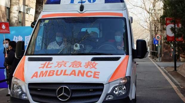 В Китае не менее 11 человек погибли при взрыве газа