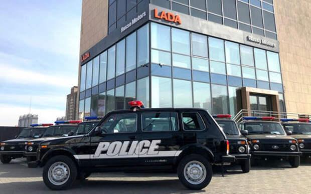 Полиция Монголии (!) закупила два десятка Lada 4х4