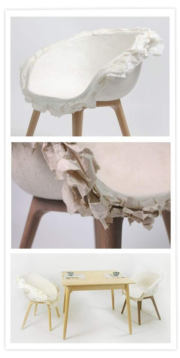 Кресло папье-маше (для спокойных людей)