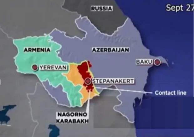 Турция перебросила в Азербайджан тысячи боевиков с Сирии