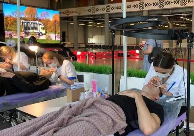 В Уфе прошел XX открытый конкурс парикмахерского и декоративного искусства «Золотая куница»