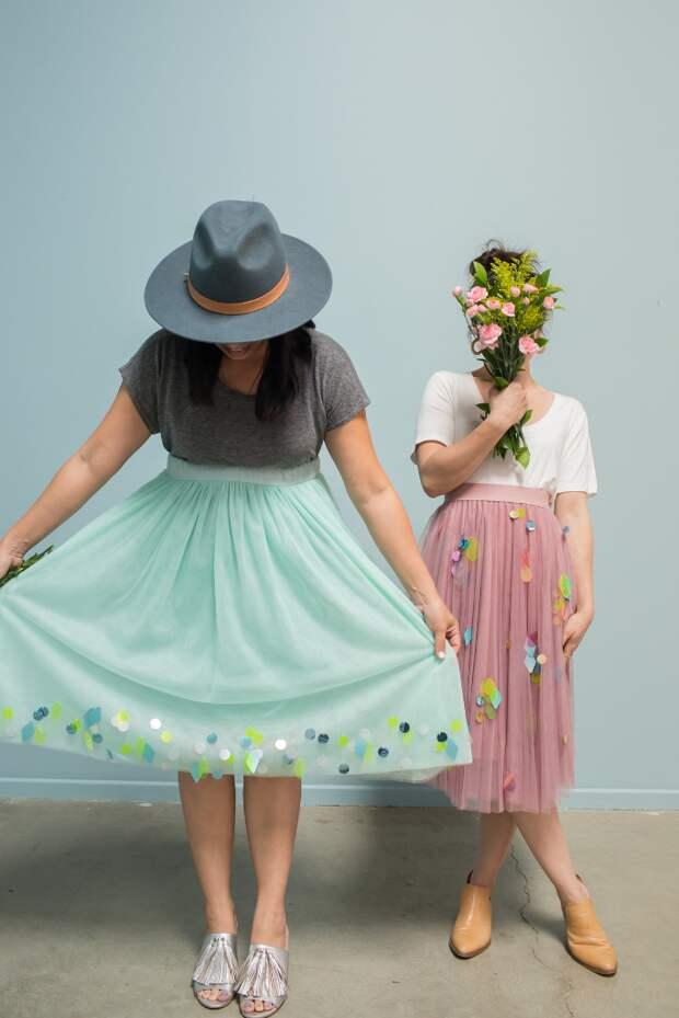 нарядная юбка на выпускной и свадьбу своими руками мастер-класс
