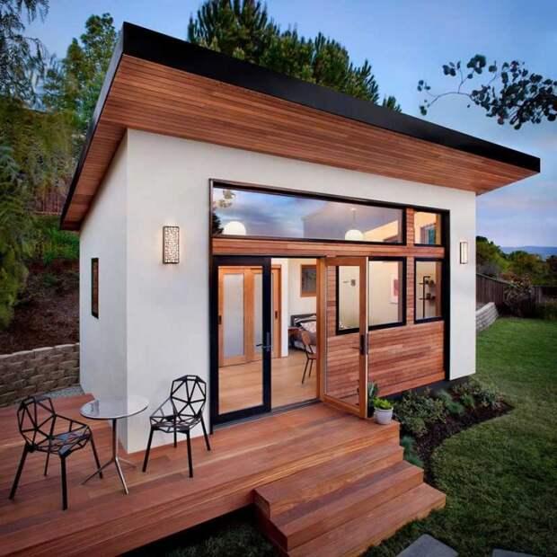 Небольшой сборный домик для компактной жизни