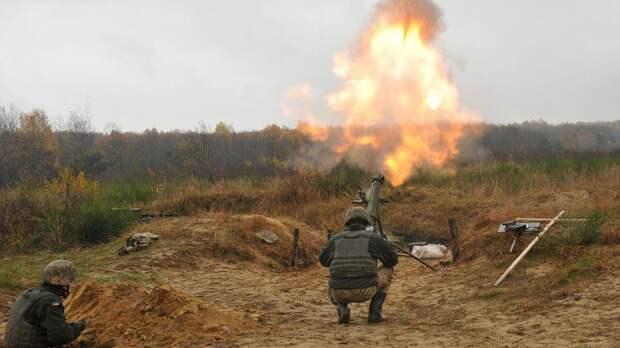 Украинская сторона обстреляла пригород Донецка из минометов