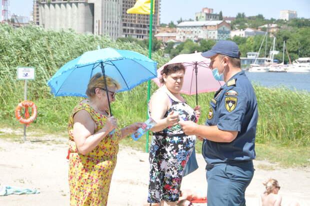 МЧС России проводит рейды безопасности отдыхающих на водных объектах