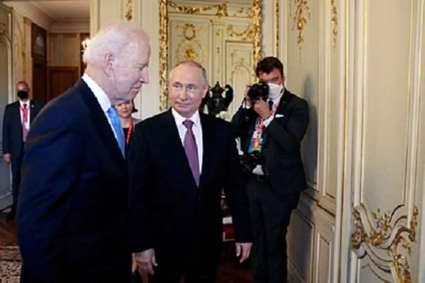 Путин назвал причины встречи с Байденом