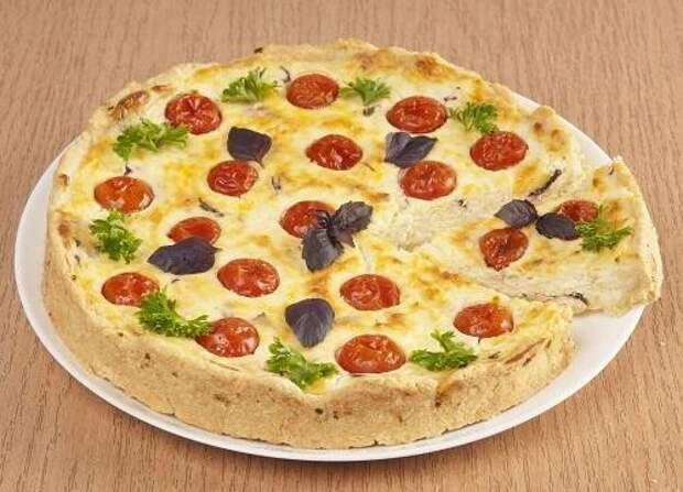 Сырный пирог с помидорами/Фото: А. Соколов/BurdaMedia